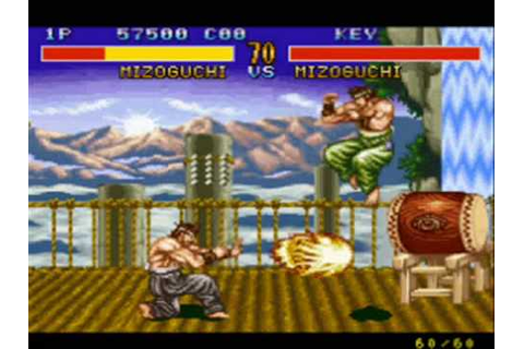 Fighter's history(SNES) - YouTube