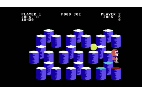 C64-Longplay - Pogo Joe -first 15 Levels (720p) - YouTube