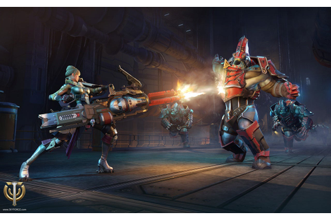 Skyforge Unveils its Gunner Class, Replete With Orbital ...