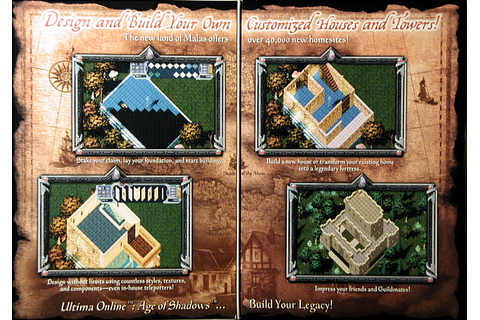 Computer Game Museum Display Case - Ultima Online: Age of ...