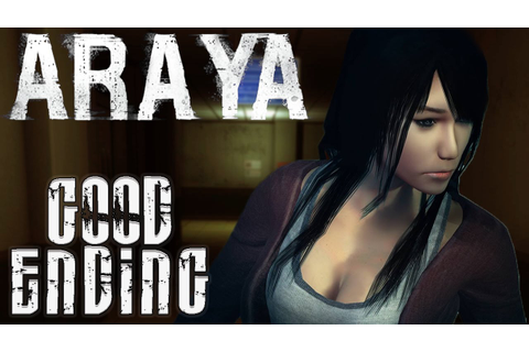THE REAL ENDING! Araya - Full Game - Good Ending! - YouTube