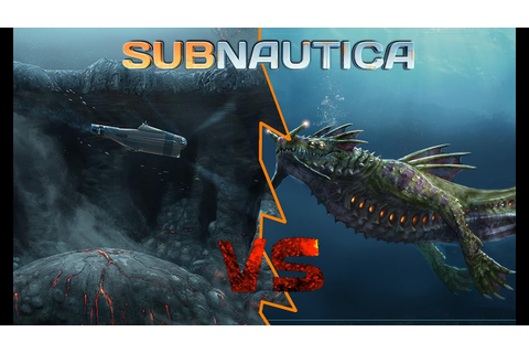 The Sea Dragon - A Subnautica cinematic | Subnautica fight ...