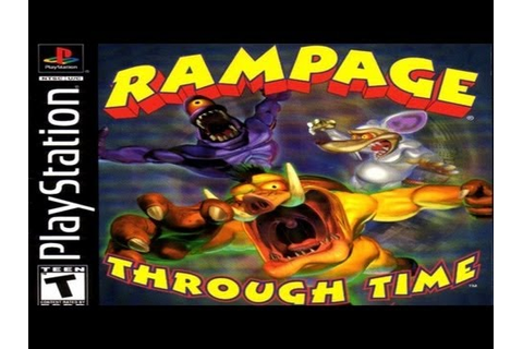 Awful Playstation Games: Rampage Through Time Review - YouTube