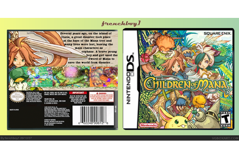 Children of Mana Nintendo DS Box Art Cover by frenchboy1