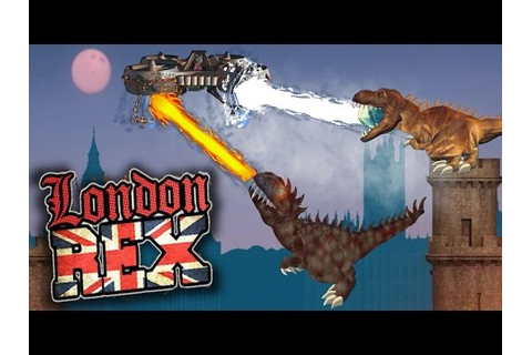 T REX GAMES FOR KIDS: London Rex - How to play and ...