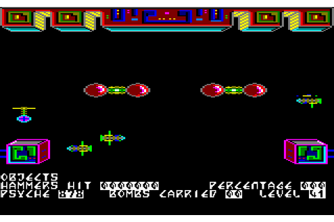 Nonterraqueous (1985) by Mastertronic Amstrad CPC game