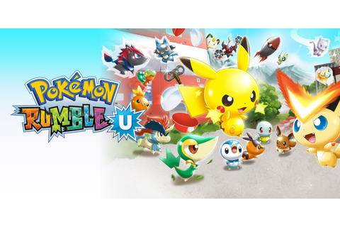 Pokémon Rumble U | Wii U download software | Games | Nintendo