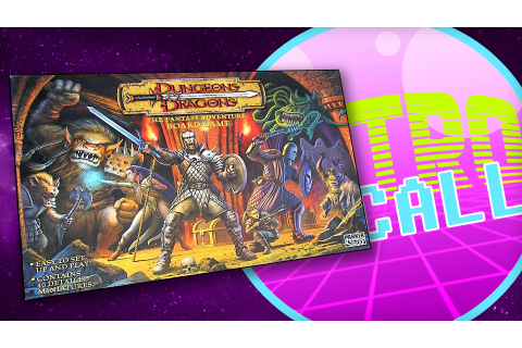 Retro Recall: Dungeons & Dragons – The Fantasy Adventure ...