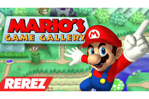 Mario's Game Gallery Review - Rerez - YouTube