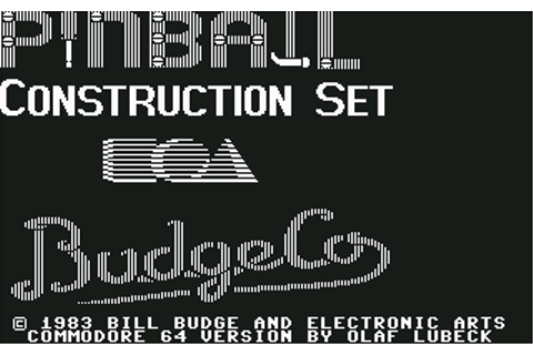 Download Pinball Construction Set - My Abandonware