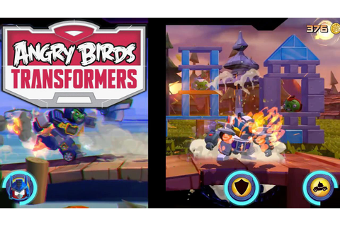 'Angry Birds Transformers' Trailer Reveals Tap And Shoot ...