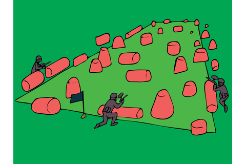 How to Win a Game of Paintball (Capture the Flag): 11 Steps