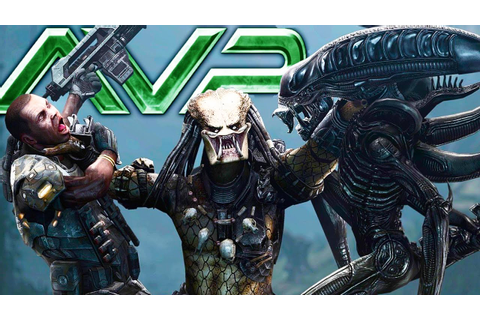 PREDATOR TAKES ON 100 XENOMORPHS IN INSANE BATTLE - (AVP ...