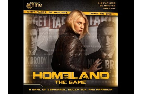 Homeland: The Game Review - YouTube