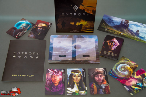 Entropy - Card Game Review - Can You Save Your Reality?