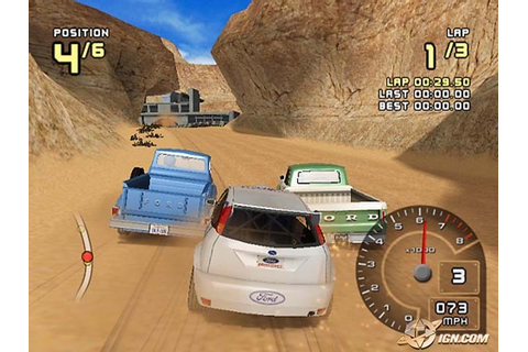 Ford Racing 2 PS2 ISO Download