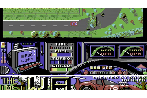 The Last V8 (Commodore 64) – GAMESREPLAY.NET