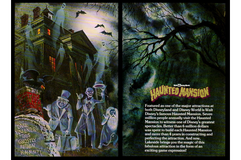 and everything else too: The Haunted Mansion Board Game