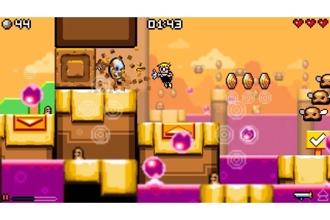Mutant Mudds Collection Launches On Nintendo Switch On ...