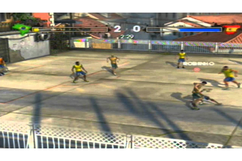 Fifa Street 3 Xbox 360 GamePlay Completa - YouTube