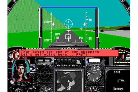 A-10 Tank Killer version 1.0 - PC Game 1989 with Tandy ...