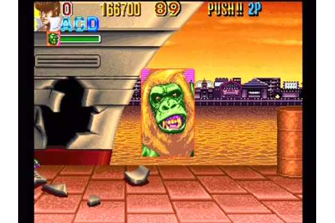 Knuckle Bash: Toaplan Final Fight Type Game Reto Arcade ...