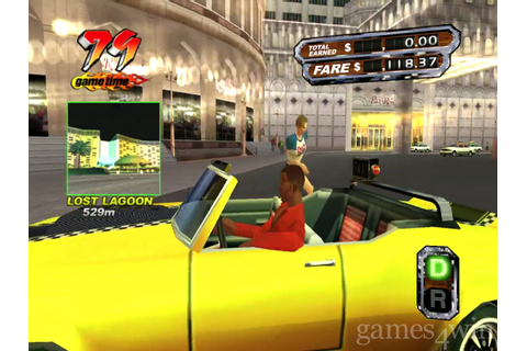 Crazy Taxi 3: High Roller Free Download - Games4Win