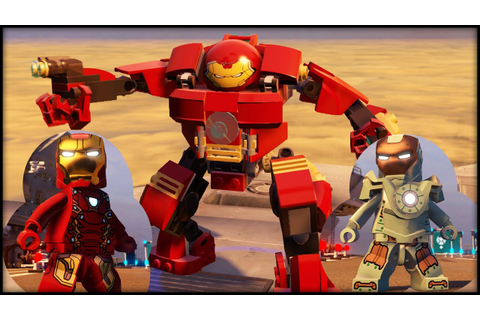 LEGO MARVEL AVENGERS - ALL Iron Man Armor In the Game ...