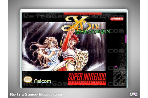 Ys IV: Mask of the Sun (Super NES Reproduction)