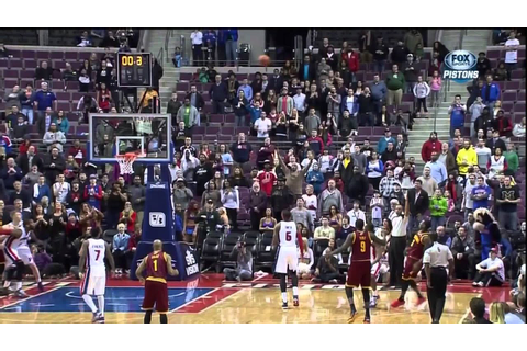 Dion Waiters game winner vs. Pistons - YouTube