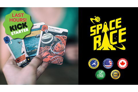 Space Race: The Card Game by Jan Soukal —Kickstarter