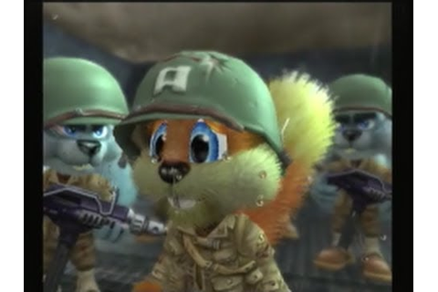 Conker: Live and Reloaded - D-Day Parody - YouTube