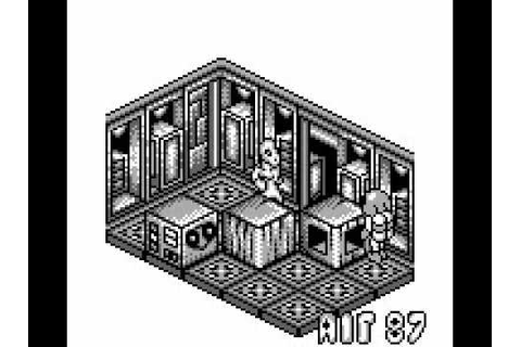 Altered Space: A 3-D Alien Adventure (GameBoy) - YouTube