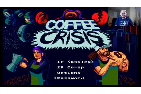 Coffee Crisis - New game (2017) for Sega Genesis - YouTube