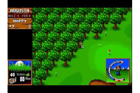 Sensible Software - Sensible Golf - 1994 - YouTube