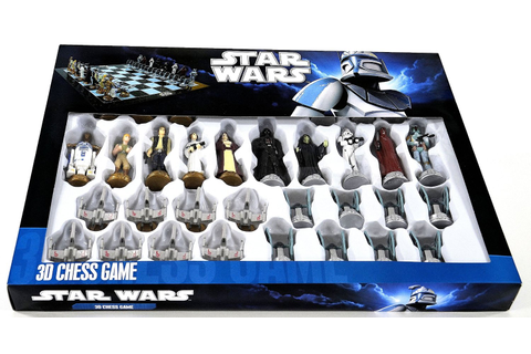The Geeky Store: Star Wars Chess Set - $41.80