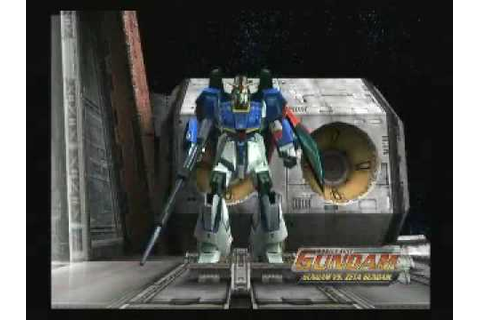 Mobile Suit Gundam VS. Zeta Gundam PS2 Trailer - YouTube