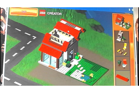 Lego creator game - YouTube