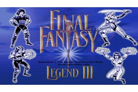 Final Fantasy Legend II ROM Download for Game Boy | Gamulator
