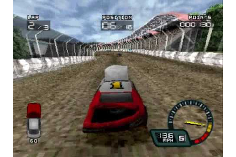 Demolition Racer Gameplay [PSX] - YouTube