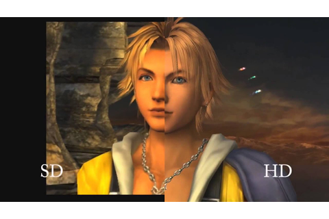 FINAL FANTASY X HD REMASTER PS3 and PS2 Comparison Trailer ...