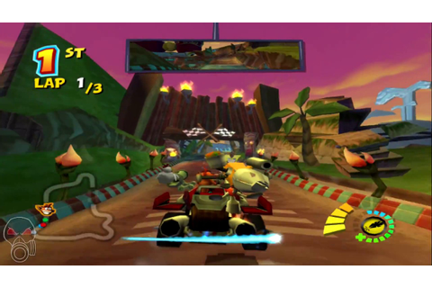 Crash Tag Team Racing | PS2 Gameplay | 1080p HD - YouTube