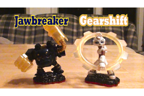 Skylanders Trap Team - BOTH Tech Trap Masters - Gearshift ...