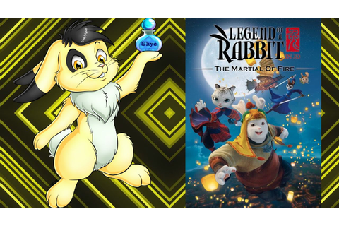 The legend of Kung Fu Rabbit: The Martial of Fire Review ...