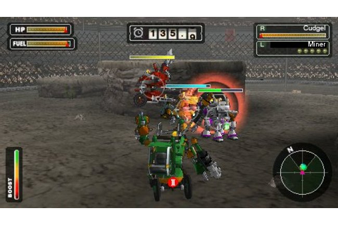 Steambot Chronicles Battle Tournament - PSP - Review