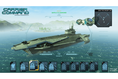 Carrier Command : Gaea Mission – Game Side Story