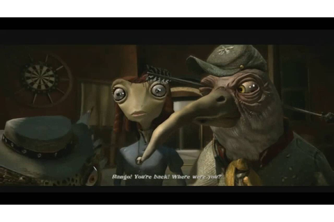 Rango The Video Game All cutscenes [Full Movie] - YouTube