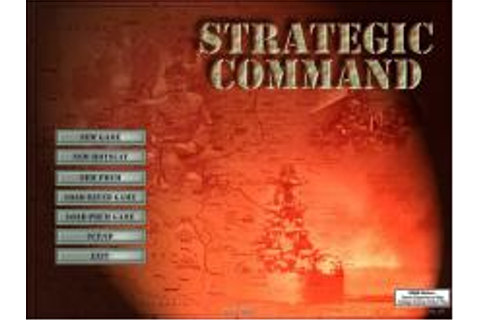 Strategic Command: European Theater Download (2002 ...