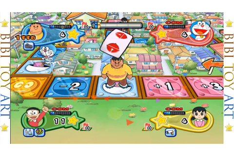 Chaien played stupid, won no points Doraemon Wii Gameドラえもん ...