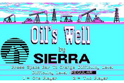 Oils Well Download (1990 Puzzle Game)